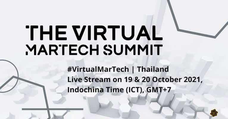 ชวนร่วมงานสัมมนาออนไลน์ The Virtual MarTech Summit ที่นักการตลาดยุคใหม่ไม่ควรพลาด!